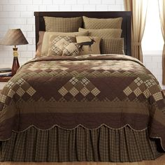 Barrington Rustic & Lodge Bedding by Lasting Impressions | texas big outdoors
