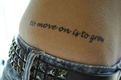 ...and then she got pregnant, and that tattoo grew along with her, and she moved on knowing her tattoo would forever look like crap.  But I want a hip tattoo :((
