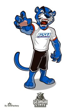 673 best college football mascots logos images on pinterest