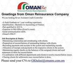 73 Best Oman Jobs images in 2019