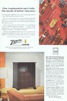 Zenith TV Nocturne L2267Y 1953 Ad Picture
