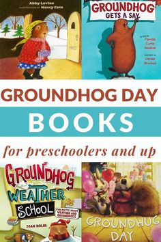 Groundhog Day books for preschoolers and up are the perfect way to celebrate Groundhog Day and learn about the creatures and shadows. #groundhogdaybooks #booksforkids #groundhogday #GrowingBookbyBook #booklists Winter Activities For Kids, Reading Activities, Teaching Reading, Reading Lists, Preschool Books, Toddler Preschool, Preschool Ideas, Teaching Ideas, Best Toddler Books