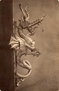 Dragon. I;d think twice about using this door knocker! Very cool.