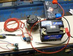 Alcasa bricos: Instalación batería auxiliar con dos relés separadores para consumos en furgo camper T3 Vw, Vw T5, Volkswagen, Nissan, Vw Camper, Motorhome, Radios, Kangoo Camper, Toyota Van