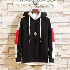 Description: Gender: Men Collar: Hooded Style: Casual Closure Type: Pull Over Material: Cotton Clothing Length: Regular Package includes More details: Sweat Shirt, Japanese Streetwear, Hip Hop, Wearing All Black, Camouflage, Hooded Sweater, Boho Chic, Grey Hoodie, Sweater Fashion