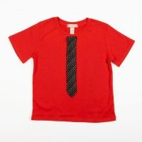 Kids Recycled Tie T-Shirt - super cute!