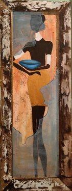 "Saatchi Art Artist Eka Peradze; Painting, ""SOLD Eka Peradze. 3D Painting. #8 "" #art"