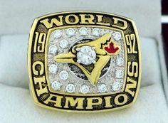 1992 Toronto Blue Jays World Series MLB Championship Ring Free shipping!!!