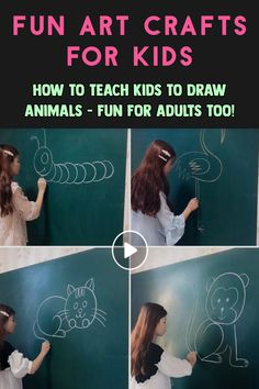 Easy DIYs To Do When You're Bored At Home Do simple crafts calm you down? K Crafts, Easy Diy Crafts, Preschool Crafts, Arts And Crafts, Easy Toddler Crafts, Crafts For Kids To Make, Teach Kids To Draw, Draw Animals, Cool Pets