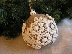rustic christmas ornaments 35 Rustic DIY Christmas Ornaments Ideas Daily source for inspiration Rustic Christmas Ornaments, Handmade Christmas Decorations, Noel Christmas, Homemade Christmas, Ornaments Ideas, Diy Lace Ornaments, Christmas Ornaments Handmade, Christmas Yard, Crochet Christmas