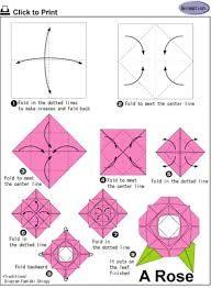Resultado de imagem para flores de dobradura de papel