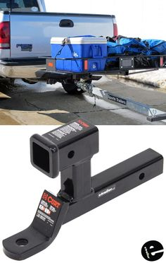 This ball mount lets you hook up your trailer to your tow vehicle. The shank slides into your vehicle's hitch receiver. Ball platform provides mounting point for hitch ball. Camper Caravan, Truck Camper, Camper Trailers, Off Road Trailer, Trailer Hitch, Jeep Xj, Adventure Trailers, Bug Out Vehicle, Utility Trailer