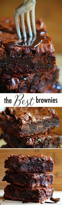 I have made these chocolate chocolate brownies and they ARE AMAZING! Homemade Brownie Mix, Homemade Brownies, Best Brownies, Boxed Brownies, Fudge Brownies, Brownies From Scratch, Just Desserts, Delicious Desserts, Dessert Recipes