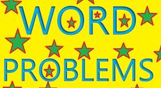 Interactive Education: Word Problems