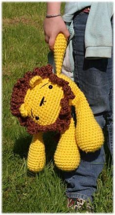 Amigurumi Pattern Crochet PDF Bobbly Wobbly LION pattern