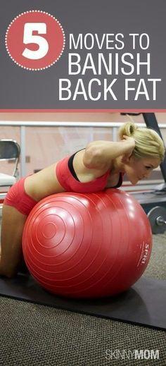 5 Moves to Banish Back Fat