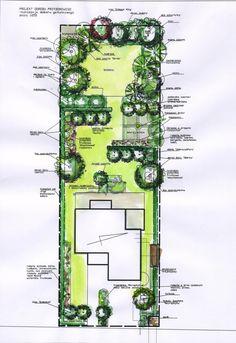 some of the coolest ideas how to improve landscape design plans backyard Garden Design Plans, Landscape Design Plans, Landscape Architecture, Terrace Design, Patio Design, Narrow Garden, Garden Planning, Garden Projects, Backyard Landscaping