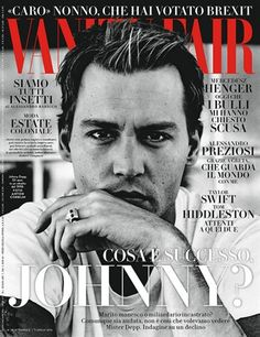 Johnny Depp - Vanity Fair Italia - Julio 2016