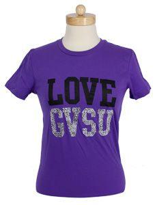 Love GVSU T-shirt