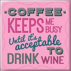 Magneetti Coffee keeps me busy Calm, Coffee, Drinks, Business, Kaffee, Drinking, Beverages, Cup Of Coffee, Drink