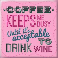 Magneetti Coffee keeps me busy 3,50e