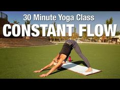 Five Parks Yoga - Constant Flow - 30 Minutes - YouTube