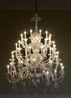 Assembly Room chandelier, Bath (UK) - place mentioned in Austen's Persuasion