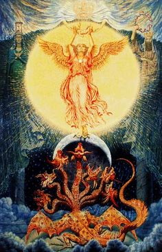 Jofra Bosschart - The Woman of the apocalypse and the beast (1961)