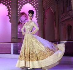 Gorgeous #Desi Anarkali #Fashion