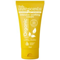 Little Innoscents Organic Baby Intensive Soothing Cream - Not just for sore little baby bottoms, the Little Innoscents Intensive Soothing Cream is a nourishing organic topical application ideal for a range of stressful skin conditions.