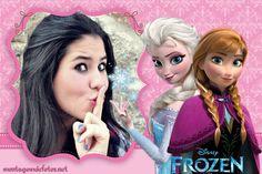 As melhores molduras para fotos do filme Frozen da #Disney.