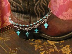 Boot Candy / Boot Bracelet /Cowgirl Western by TheMaidensFlower