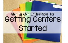 Unsure how to get started with literacy centers at the beginning of the year? Follow these simple steps to prep your students for success! http://firstgradebangs.blogspot.com/2016/09/getting-centers-started.html