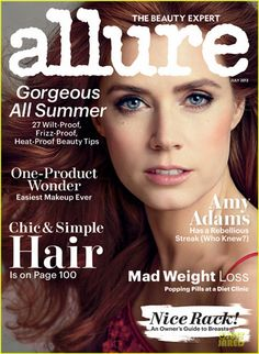 Amy Adams Covers 'Allure' Magazine July 2013 |