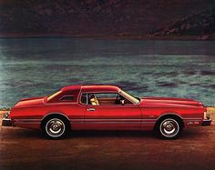 1976 Ford Thunderbird Lipstick Luxury Group. Just like my best friends moms car!