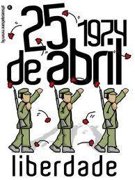 cartaz 25 de Abril