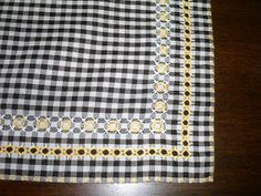 , Chicken Scratch Embroidery, Needle And Thread, Gingham, Hand Embroidery, Stripes, Quilts, Blanket, Sewing, Tela
