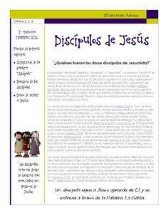 "Tutti-Frutti : FEBRERO 2016: ""LOS DISCÍPULOS DE JESÚS"""