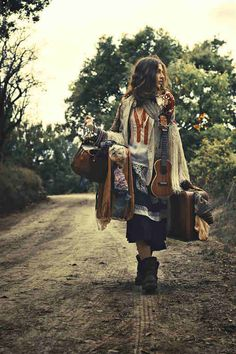 gypsy wanderer bag lady super girl
