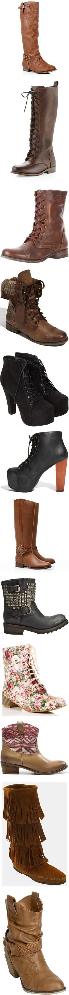 """Lions, Tigers, and Boots... Oh MY! (fall's 20 hottest boots)"" by ms-hollyelisabeth on Polyvore"