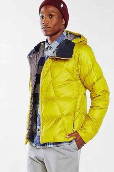Nau Down Fractal Hooded Jacket - Urban Outfitters