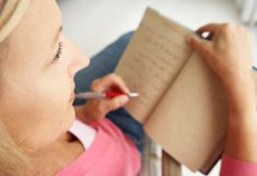 """Things Every Woman Should Write Down Right Now"""" by Amy Shearn for Oprah Magazine."""