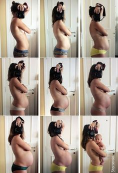 Here's a selfie that will put all your selfies to shame. Argentinian freelance photographer Sophie Starzenski took self-portraits in front of a mirror to capture the progress of her pregnancy. The series, called Proyecto Pyokko, is a set of ten photographs showing us weeks 4, 15, 20, 25, 29, 33, 37, 40, and finally with […]