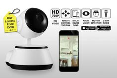 instead of (from Mobi-Trends) for a HD home security camera with motion detection system - save Security Cameras For Home, Home Security Systems, Drip Coffee Maker, Sd Card, Things To Buy, Google Play, Digital Camera, Wifi, Told You So