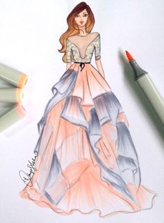 Reem Acra SS17 by @dimple_asha_illustration| Be Inspirational ❥|Mz. Manerz: Being well dressed is a beautiful form of confidence, happiness & politeness