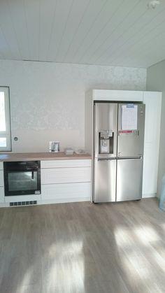 I <3 meidän uuni & jääkaappi. #LG side-by-side #AEG-höyryuuni