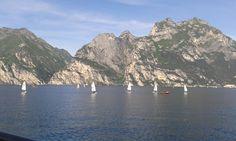 Yachting on Lake Garda 2015