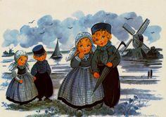 Delft Blue Children Postcard 4 | Flickr - Photo Sharing!