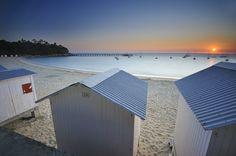 Lever de soleil sur la plage des Dames ~ Île de Noirmoutier ~ Vendée ~ France    EXPLORED #162 19.07.11