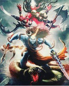 Shiva n Kali Shiva Shakti, Rudra Shiva, Lord Shiva Hd Images, Shiva Lord Wallpapers, Hindus, Zombi Pin Up, Angry Lord Shiva, Shiva Photos, Shiva Tattoo